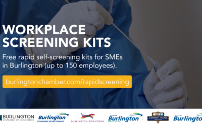 Rapid Antigen Screening Kits now available to Burlington businesses